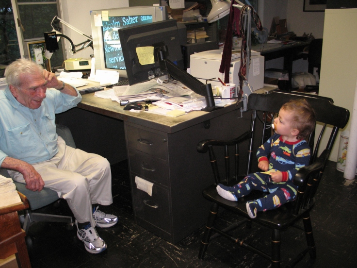 Great-Grandpa Tells Samuel What to do with his Life